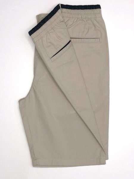 viaandrea bermuda via andrea sarja peletizada com elastico na cintura 15