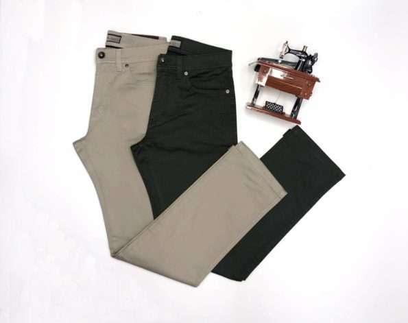 viaandrea calca sarja 5 bolsos com elastano 1