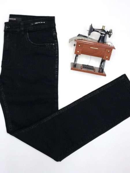 viaandrea calca jeans aramis milao black stonado preto stone 42