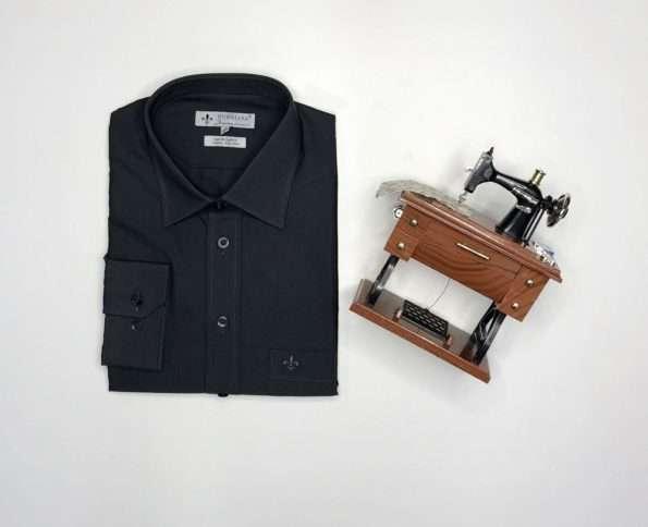 viaandrea camisa dudalina manga longa comfort fit com bolso 3