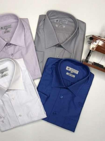 viaandrea camisa dudalina manga longa confort fit com bolso 1