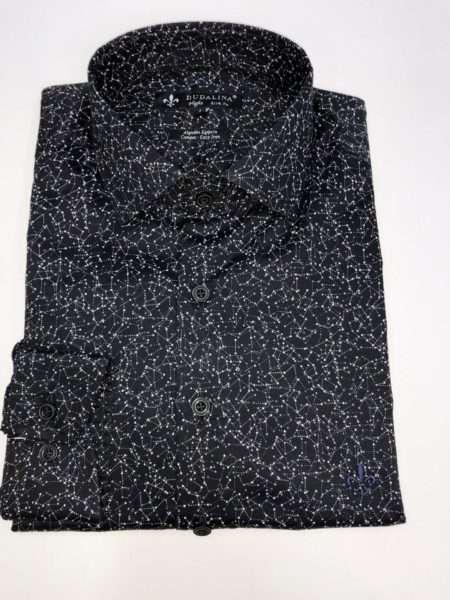 viaandrea camisa dudalina manga longa minimalista night slim fit 2