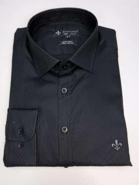 viaandrea camisa dudalina manga longa night slim fit maquinetada 1