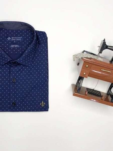 viaandrea camisa dudalina manga longa plus size confort fit trabalhado