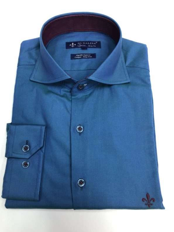 viaandrea camisa dudalina manga longa slim fit 4