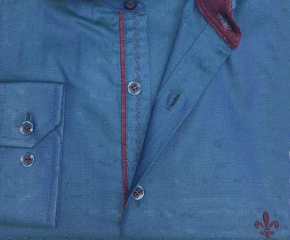 viaandrea camisa dudalina manga longa slim fit 6