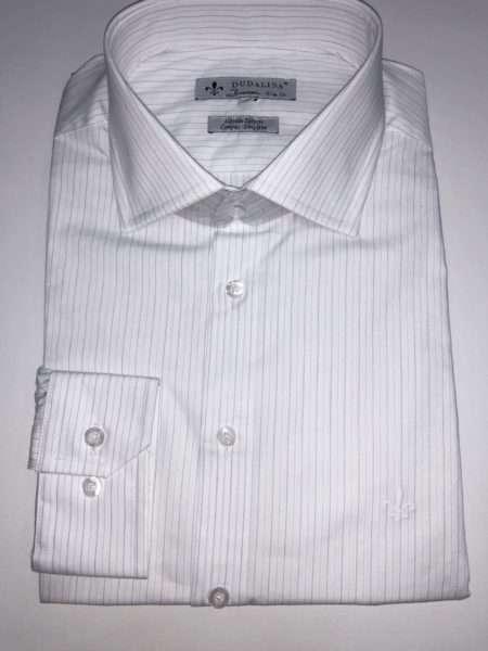 viaandrea camisa dudalina manga longa slim fit listrada 1