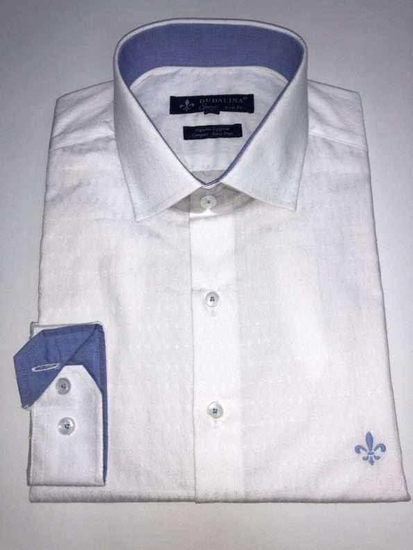 viaandrea camisa dudalina manga longa slim fit maquinetada 1