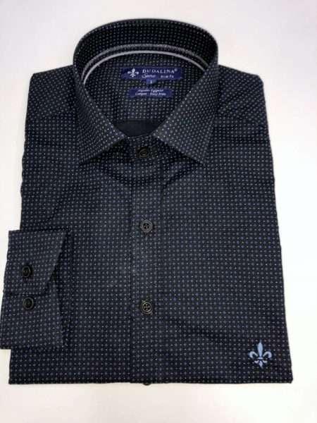 viaandrea camisa dudalina manga longa slim fit minimalista sport 1