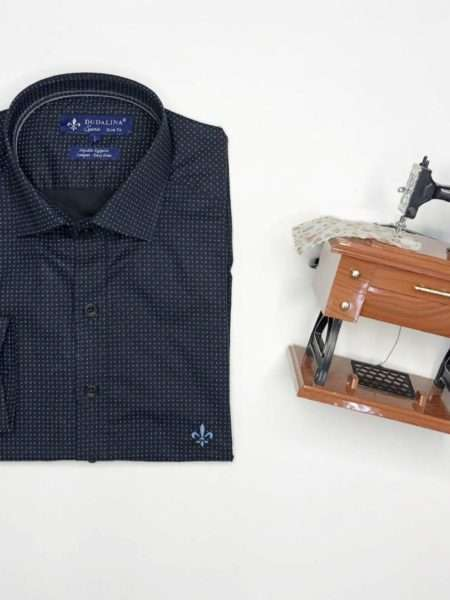 viaandrea camisa dudalina manga longa slim fit minimalista sport