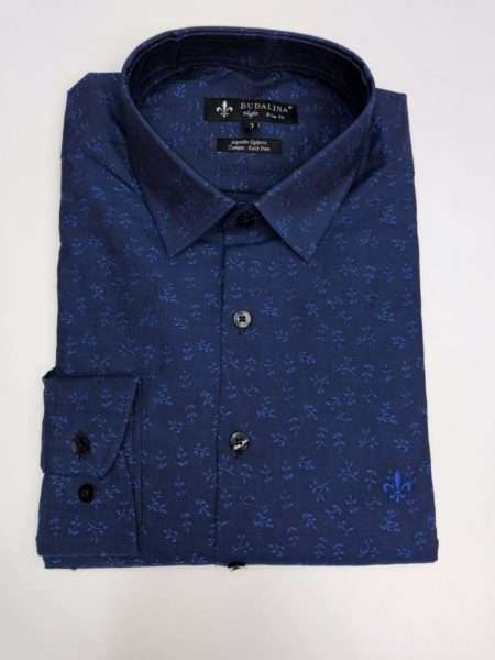 viaandrea camisa dudalina night slim fit floral 2