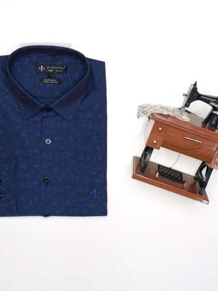 viaandrea camisa dudalina night slim fit floral