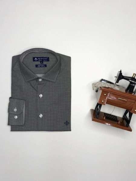 viaandrea camisa dudalina slim fit azul claro 7
