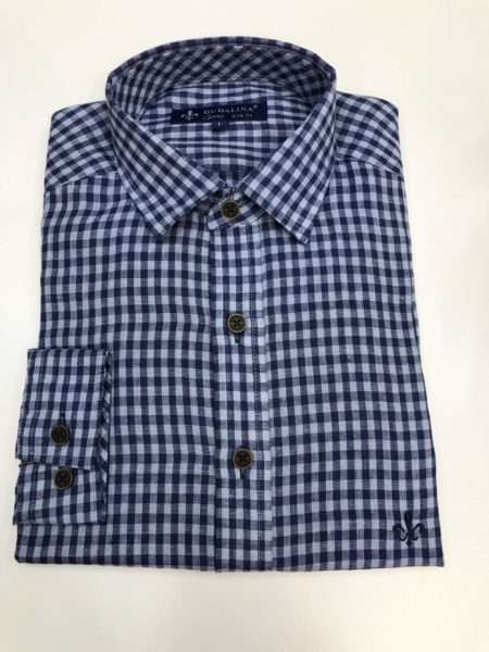 viaandrea camisa dudalina sport slim fit copia azul 3 1