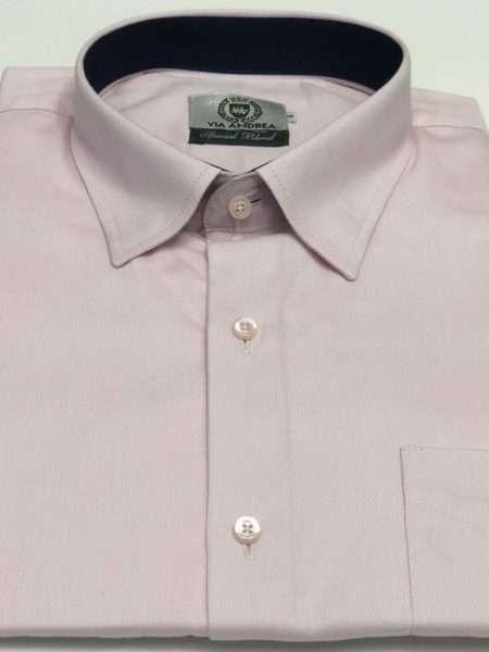 viaandrea camisa via andrea manga curta com bolso canelada 2