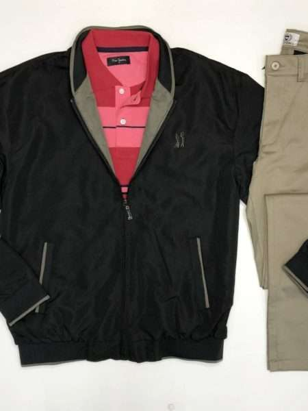 viaandrea jaqueta fourty leve lisa preto p