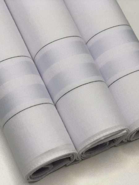 viaandrea lenco presidente kit com tres lencos finos 10