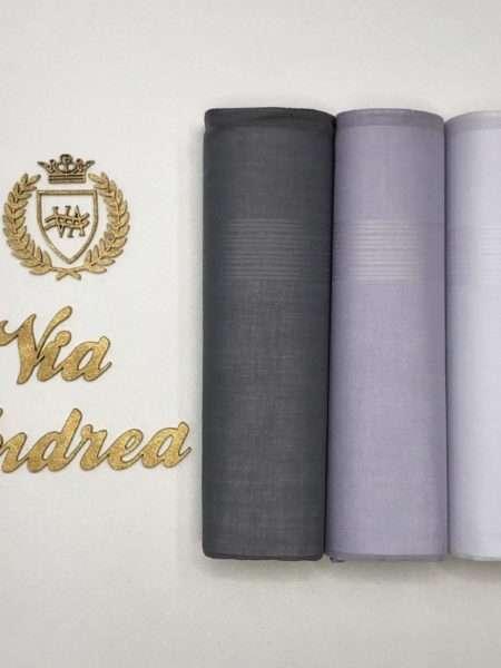 viaandrea lenco presidente kit com tres lencos finos 11