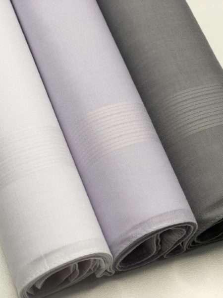 viaandrea lenco presidente kit com tres lencos finos 12