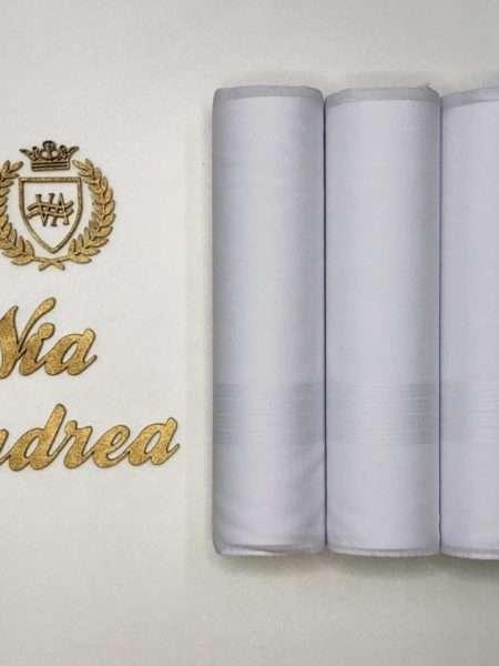 viaandrea lenco presidente kit com tres lencos finos 13