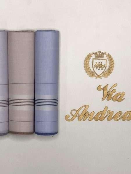 viaandrea lenco presidente kit com tres lencos finos 4