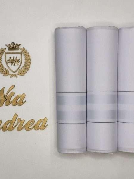 viaandrea lenco presidente kit com tres lencos finos 9