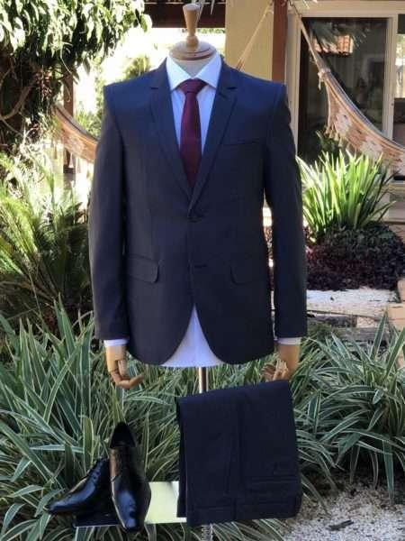 viaandrea terno costume danithais slim fit maquinetado plus size 1