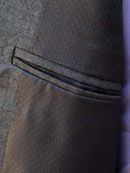 viaandrea terno costume fideli poliviscose cinza tamanho 54 1