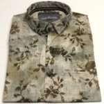 viaandrea camisa docthos manga curta floral slim 1