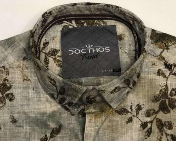 viaandrea camisa docthos manga curta floral slim 2