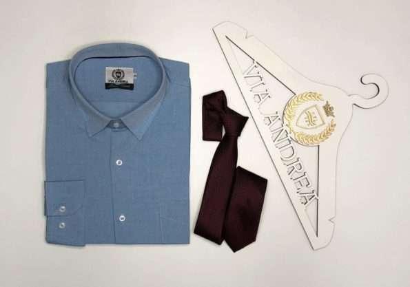 viaandrea camisa via andrea manga longa com bolso tradicional trabalhado 1