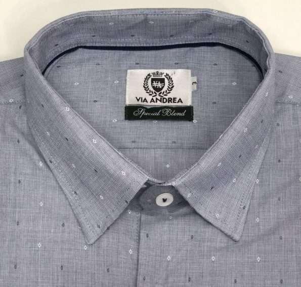 viaandrea camisa via andrea manga longa com bolso tradicional trabalhado 5