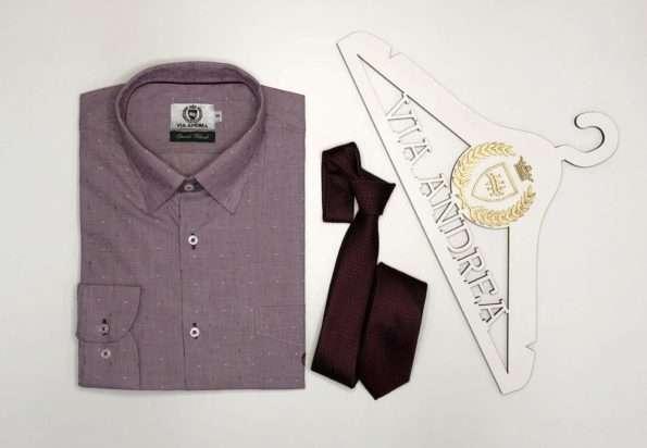 viaandrea camisa via andrea manga longa com bolso tradicional trabalhado bege tamanho 6