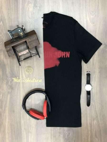 viaandrea camiseta t shirts jhon jhon rg red smudg
