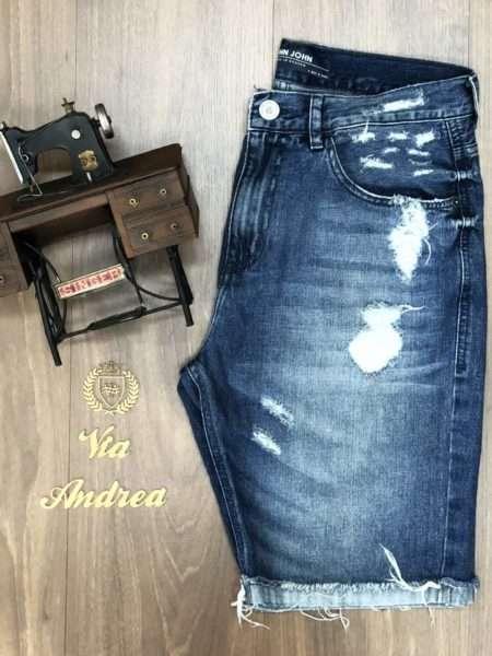 viaandrea bermuda jeans john john classica minorca com destroer