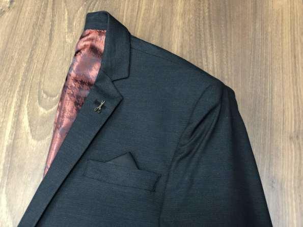 viaandrea blazer paleto docthos confort fit maquinetado 1