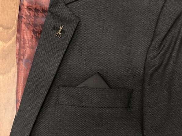 viaandrea blazer paleto docthos confort fit maquinetado 3