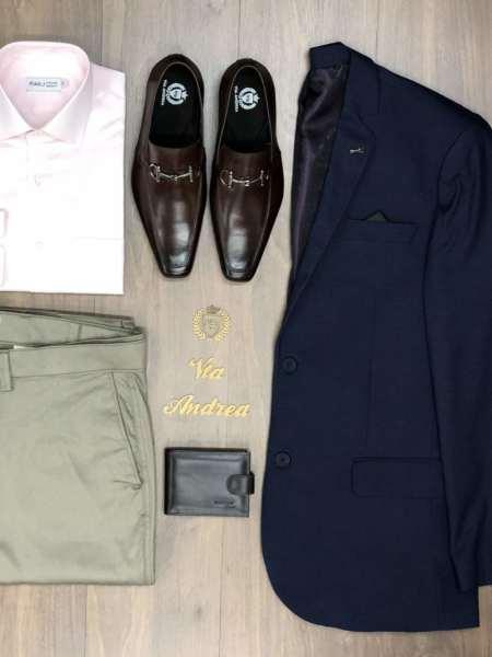 viaandrea blazer paleto docthos confort fit maquinetado 5