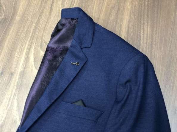 viaandrea blazer paleto docthos confort fit maquinetado 6