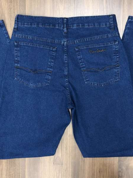 viaandrea calca jeans pierre cardin tradicional com elastano 1