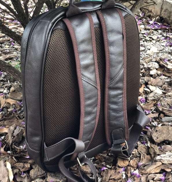 viaandrea mochila de costas com porta notebook couro 2