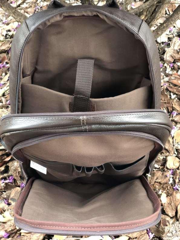 viaandrea mochila de costas com porta notebook couro 3