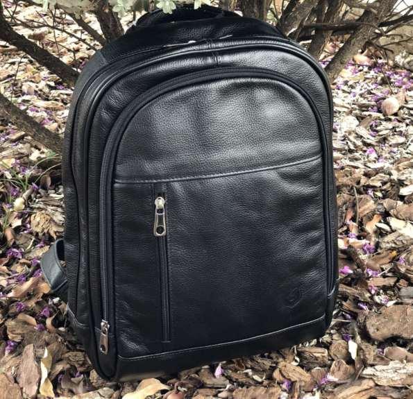 viaandrea mochila de costas com porta notebook couro 4