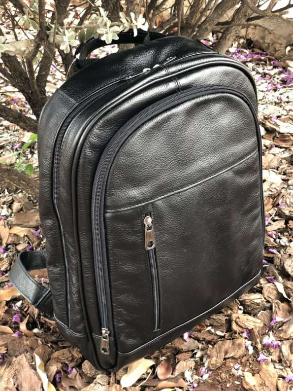 viaandrea mochila de costas com porta notebook couro 5