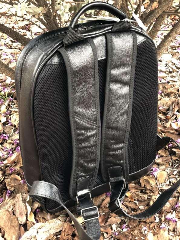 viaandrea mochila de costas com porta notebook couro 6