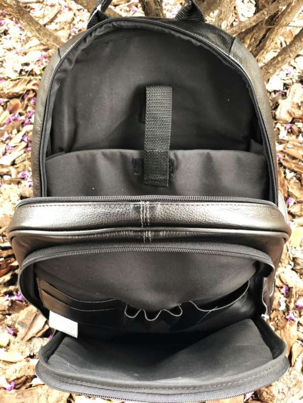 viaandrea mochila de costas com porta notebook couro 7
