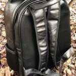 viaandrea mochila em couro com porta notebook 13