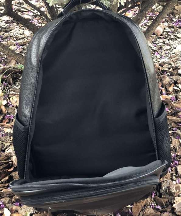 viaandrea mochila em couro com porta notebook 3