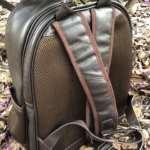 viaandrea mochila em couro com porta notebook 8