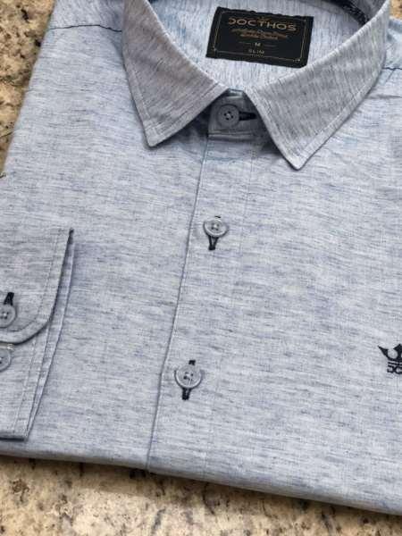 viaandrea camisa docthos manga longa mesclado 1